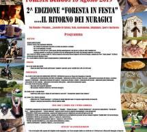 2° EDIZIONE FORESTA IN FESTA  – BURGOS – GIOVEDI 15 AGOSTO 2019