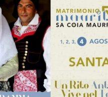 MATRIMONIO MAURITANO – SA COIA MAUREDDINA – SANTADI -1-4 AGOSTO 2019