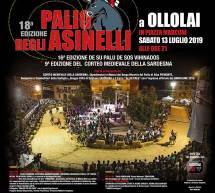 PALIO DEGLI ASINELLI – OLLOLAI – SABATO 13 LUGLIO 2019