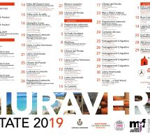 PROGRAMMA EVENTI ESTATE 2019 A MURAVERA