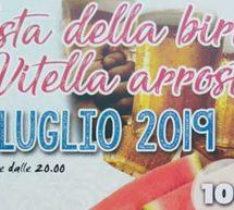 FESTA DELLA BIRRA E DELLA VITELLA ARROSTO -URAS – VENERDI 12 LUGLIO 2019