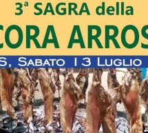 3° SAGRA DELLA PECORA ARROSTO – MORES – SABATO 13 LUGLIO 2019