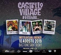 CASTELLO VILLAGE FESTIVAL – LA NOTTE DI SAN LORENZO – CAGLIARI – SABATO 10 AGOSTO 2019