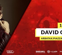 DAVID GUETTA – RED VALLEY FESTIVAL – ARBATAX – MERCOLEDI 14 AGOSTO 2019