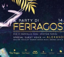 PARTY DI FERRAGOSTO – JINNY BEACH – QUARTU SANT'ELENA-  MERCOLEDI 14 AGOSTO 2019