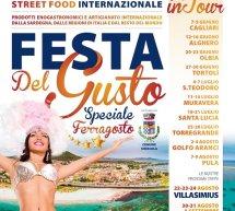 FESTA DEL GUSTO INTERNAZIONALE- LA CALETTA- SINISCOLA – 14-15-16 AGOSTO 2019