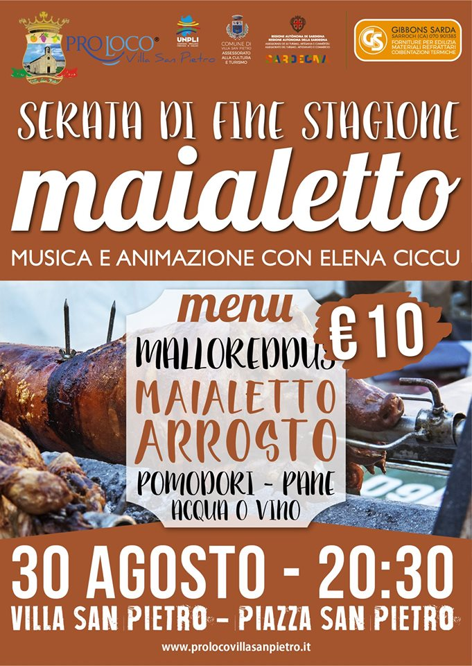 MAIALETTO VILLA S. PIETRO 30 AGOSTO