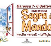 SAGRA DELLA MANDORLA – BARESSA- 7-8 SETTEMBRE 2019