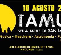 TAMULI NELLA NOTTE DI SAN LORENZO – MACOMER- SABATO 10 AGOSTO 2019