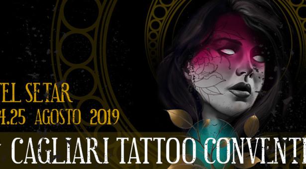 CAGLIARI TATTOO CONVENTION – HOTEL SETAR – QUARTU SANT'ELENA – 23-24-25 AGOSTO 2019