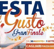 FESTA DEL GUSTO INTERNAZIONALE – CAGLIARI – 30 AGOSTO – 1 SETTEMBRE 2019