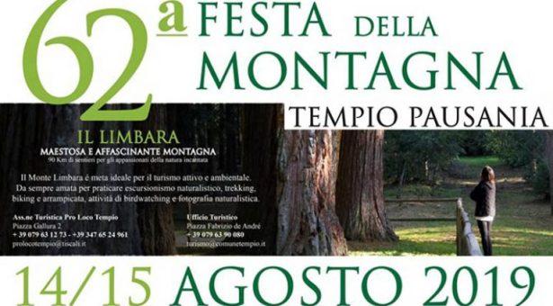 62° FESTA DELLA MONTAGNA- TEMPIO PAUSANIA- 14-15 AGOSTO 2019