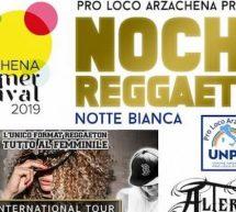NOCHE REGGAETON – ARZACHENA – DOMENICA 25 AGOSTO 2019