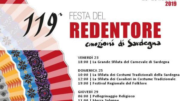 FESTA DEL REDENTORE – NUORO – 23-29 AGOSTO 2019