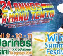 A MANU TENTA & ANDARINOS DE USINI – 9-10-11 AGOSTO 2019