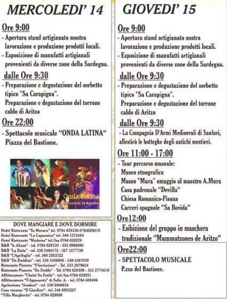 sagra-carapigna-eventi-mercoledi-giovedi-2019
