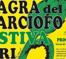 SAGRA DEL CARCIOFO ESTIVA – URI – VENERDI 9 AGOSTO 2019