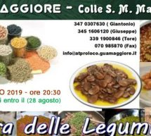 SAGRA DELLE LEGUMINOSE -GUAMAGGIORE – SABATO 31 AGOSTO 2019