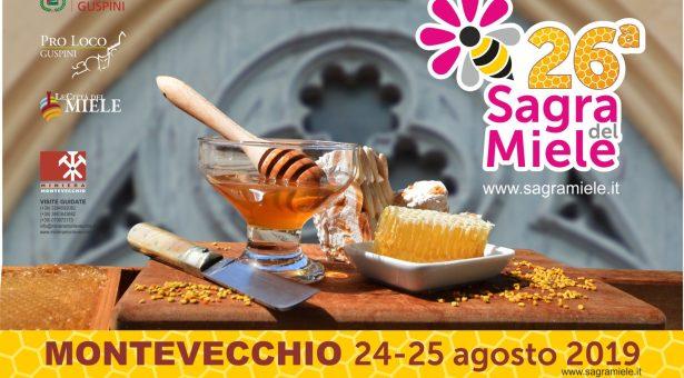 SAGRA DEL MIELE – MONTEVECCHIO – 24-25 AGOSTO 2019