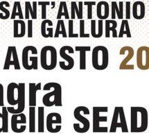 SAGRA DELLE SEADAS – SANT'ANTONIO DI GALLURA – MARTEDI 13 AGOSTO 2019