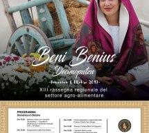 BENI BENIUS – DECIMOPUTZU – DOMENICA 6 OTTOBRE 2019