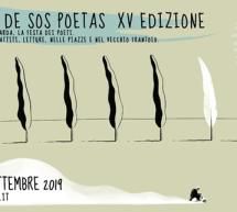 CABUDANNE DE SOS POETAS – SENEGHE – 5-8 SETTEMBRE 2019