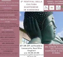 5° FESTIVAL DELLA CULTURA GIAPPONESE – LAZZARETTO – CAGLIARI – 27-29 SETTEMBRE 2019
