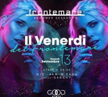 IL VENERDI DEL FRONTEMARE – QUARTU SANT'ELENA – VENERDI 13 SETTEMBRE 2019