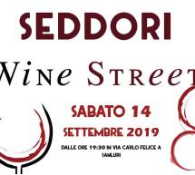 SEDDORI WINE STREET – SANLURI – SABATO 14 SETTEMBRE 2019