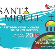 FESTA DI SANT MIQUEL – ALGHERO – 24-30 SETTEMBRE 2019