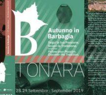 AUTUNNO IN BARBAGIA – TONARA – 28-29 SETTEMBRE 2019