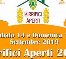 BIRRIFICI APERTI IN SARDEGNA – 14-15 SETTEMBRE 2019