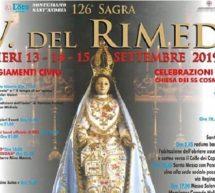 FESTA BEATA VERGINE DEL RIMEDIO – OZIERI – 13-14-15 SETTEMBRE 2019