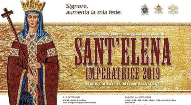 FESTA DI SANT'ELENA IMPERATRICE- QUARTU SANT'ELENA – 8-22 SETTEMBRE 2019