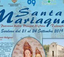 FESTA DI SANTA MARIA ACQUAS – SARDARA – 21-24 SETTEMBRE 2019