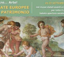 GIORNATE EUROPEE DEL PATRIMONIO IN SARDEGNA – 21-22 SETTEMBRE 2019