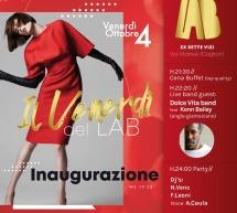 INAUGURAZIONE – IL VENERDI DEL LAB (EX SETTE VIZI) – CAGLIARI – VENERDI 4 OTTOBRE 2019