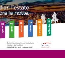 NOTTI COLORATE – LA NOTTE VERDE – CAGLIARI – GIOVEDI 12 SETTEMBRE 2019