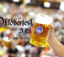 OKTOBERFEST 2019 – MONACO DI BAVIERA – 21 SETTEMBRE – 6 OTTOBRE 2019