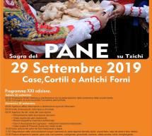 SAGRA DEL PANE TZICHI – SAMUGHEO -DOMENICA 29 SETTEMBRE 2019