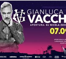 GIANLUCA VACCHI – OPERA BEACH ARENA – QUARTU SANT'ELENA – SABATO 7 SETTEMBRE 2019