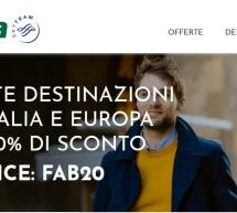 20% SCONTO SUI VOLI ALITALIA PER ITALIA,EUROPA E NORD AFRICA