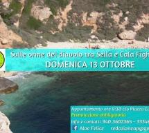 CALA FIGHERA,SULLE ORME DEL DIAVOLO – CAGLIARI – DOMENICA 13 OTTOBRE 2019