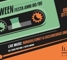 HALLOWEEN FESTA ANNI 80/90- LIDO – CAGLIARI – GIOVEDI 31 OTTOBRE 2019