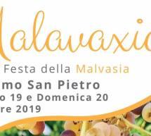 FESTA DELLA MALVASIA – SETTIMO SAN PIETRO – 19-20 OTTOBRE 2019