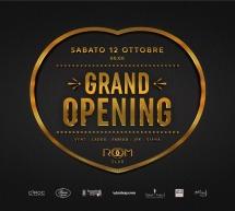 GRAND OPENING – ROOM CLUB – CAGLIARI – SABATO 12 OTTOBRE 2019