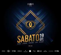 SATURDAY NIGHT – ROOM CLUB – CAGLIARI – SABATO 19 OTTOBRE 2019