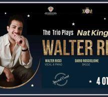 INAUGURAZIONE – WALTER RICCI & THE TRIO PLAY NAT KING COLE – BFLAT – CAGLIARI  -VENERDI 4 OTTOBRE 2019