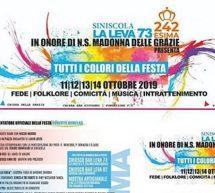 FESTA DI NOSTRA SIGNORA DELLE GRAZIE -SINISCOLA -11-14 OTTOBRE 2019