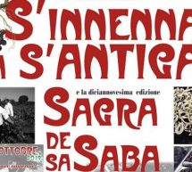 S'INNENNA A S'ANTIGA & SAGRA DE SA SABA – NORBELLO – DOMENICA 6 OTTOBRE 2019